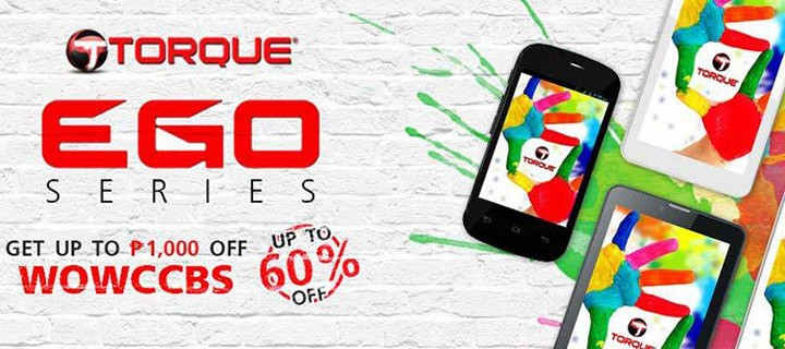 Torque teams up with Ascend Group Co. Ltd to highlight the Torque Ego series phones in iTrueMart