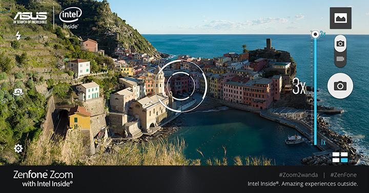 Zoom to Wanda, ASUS ZenFone Zoom