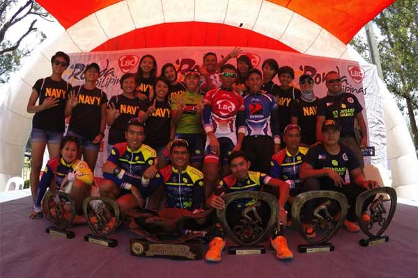 The Team of Champs--the Navy-Standard Insurance team brought home the top prize for the Visayas, Mindanao and Luzon legs.