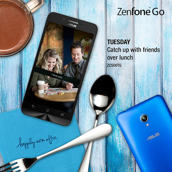 7 Days of Summer with ZenFone Go