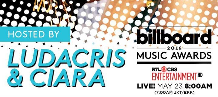 "The ""2016 Billboard Music Awards"" Finalists Announced: Ludacris & Ciara to Host"