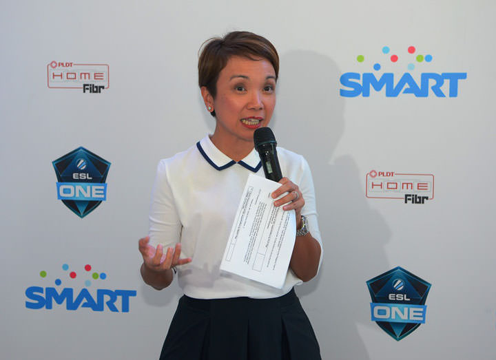 ESL One Manila_Smart Brand Head Kathy C. Carag.
