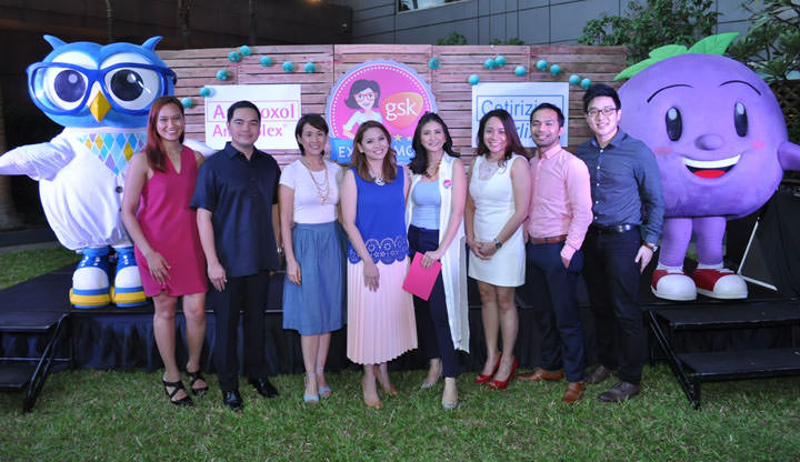 GSK Mom Expert Rica Bonifacio and Bento Mom Kat Maderazo together with Anne Castillo, Jonnahs Singian, Dr. Sheila Chua, Bing Salandanan, Rommel Abuda and Shaun Si