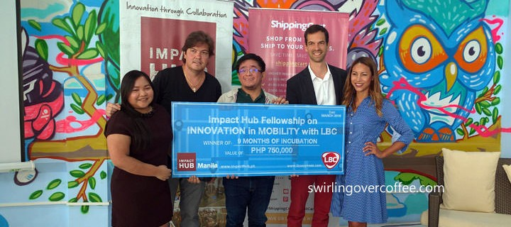Drone Land Surveying Service, SkyEye, wins P750,000 start up support from Impact Hub Manila and LBC