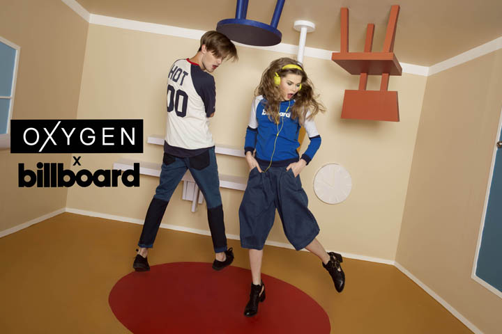 Oxygen x Billboard – When International Music and Local Fashion Come Together