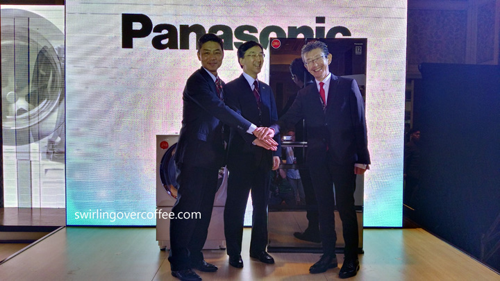 Panasonic Ref and Washing Machine