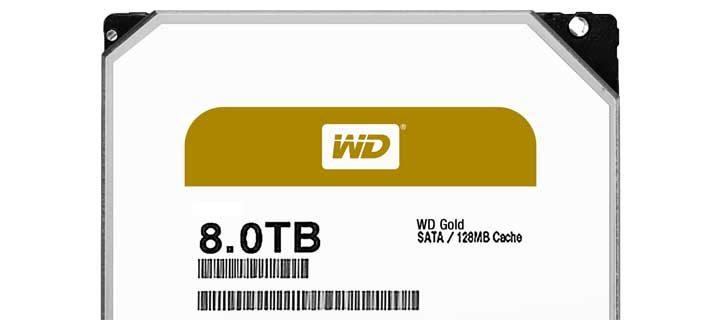 Western Digital Enhance its Datacenter Portfoilio with WD Gold Hard Drives