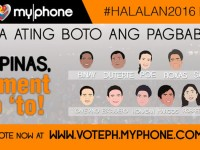 MyPhone launches #PILIPINASMomentMoto Election 2016 Poll