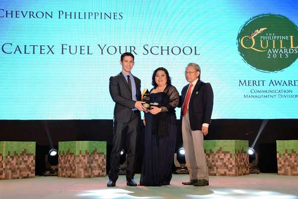 Caltex-Fuel-Your-School-bags-3rd-award-for-the-year,-adds-IABC's-Quill-to-rare-grand-slam-feat