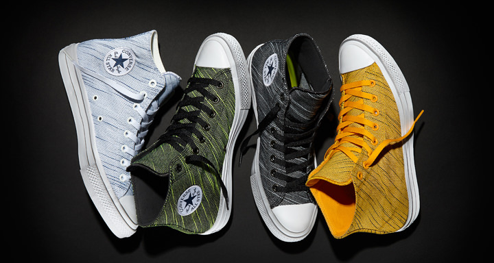 Spring-ready, lightweight knit material fuels the new Converse Chuck II Sneakers