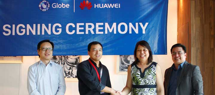 Huawei adopts Globe Telecom's Project 1 Phone recycling and recovery program