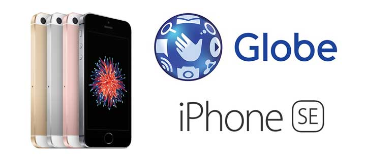 Globe Telecom to Offer iPhone SE in the Philippines starting May 16, 2016