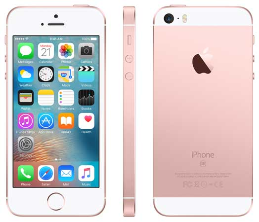Globe-iPhone-SE-in-Rose-Gold