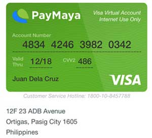 PayMaya-Visa-Virtual-Credit-Card