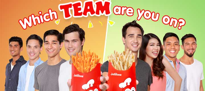 Different flavors of adventure with the new Jolly Crispy Flavored Fries