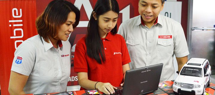 Starmobile powers A-1 Driving School driver's education program
