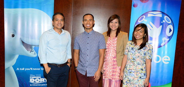 Globe Broadband brings wonderful surprises with premiere of Disney/Pixar's Finding Dory