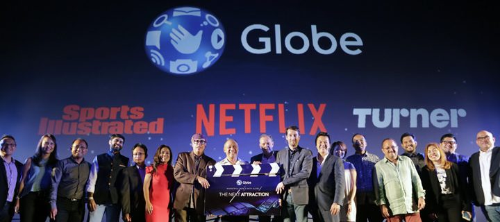 Globe Telecom changes landscape of PH entertainment with Globe Studios, Globe Live, new content partnerships and broadband plans