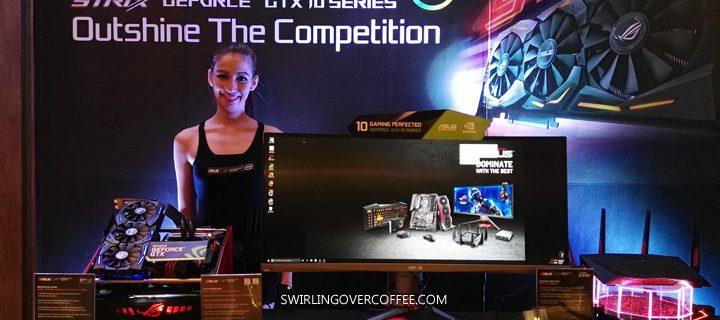 ASUS ROG unveils gaming desktop (ROG GT51), laptop (ROG GL502), display (ROG Swift PG248Q), and graphic card (ROG Strix GeForce GTX 1080)