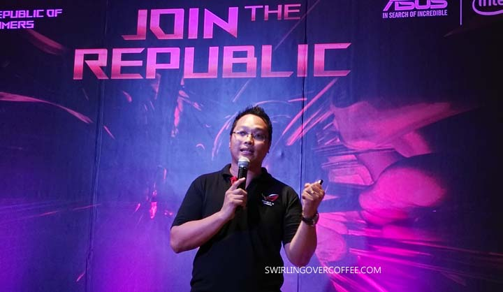 ASUS Republic of Gamers, #JoinTheRepublic, Alvin Estacio