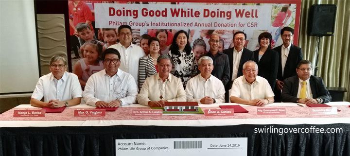 Philam Group intensifies CSR efforts, builds 101 typhoon-resilient, fully-furnished classrooms