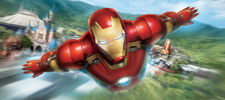Marvel's Iron Man Experience Ride Tests Begin as Construction Nears Completion