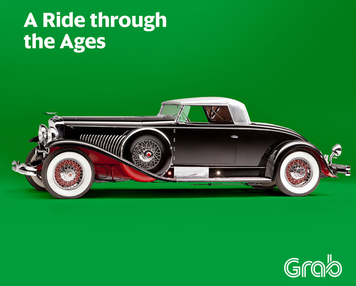 Journey to Grab, A ride through the ages, Grab