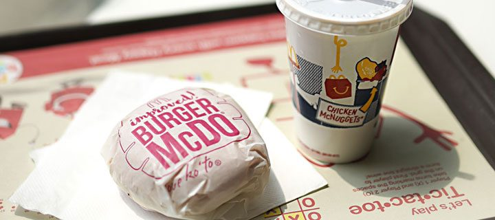 Welcome the latest change in McDonald's—the new and improved Burger McDo