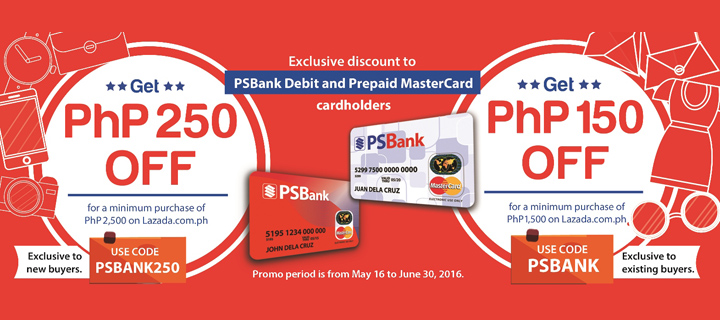 Get a welcome treat when you open a PSBank Debit or Prepaid card!