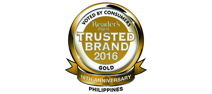 Readers Digest Trusted Brands 2016: Honoring the Companies Filipinos Believe In the Most