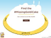 Find the #MissingGoldiCake and get a chance to win Php 10,000!