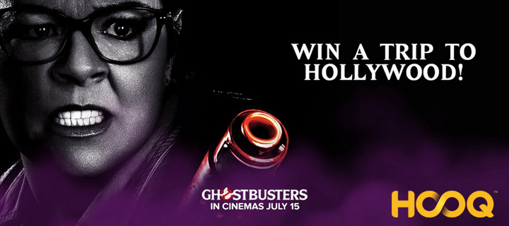 Win a trip to Hollywood for the Ghostbusters World Premiere!