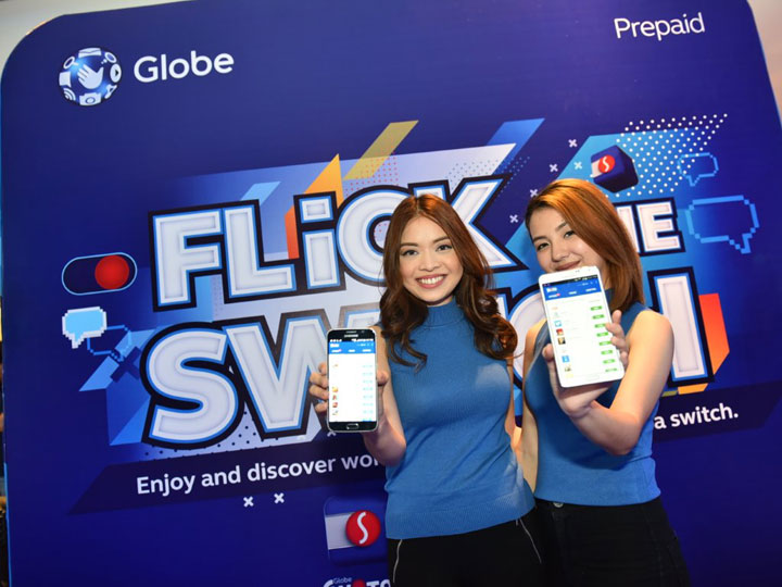 Try the new Globe Switch app – all the hottest apps and