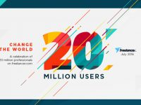 With its Milestone of 20 Million Users, Freelancer.com Celebrates the World's Largest Online Community of Employers and Freelancers