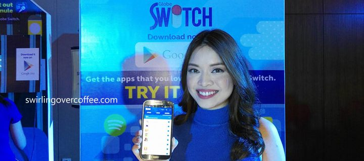 Try the new Globe Switch app – all the hottest apps and mobile internet deals at the flick of a switch