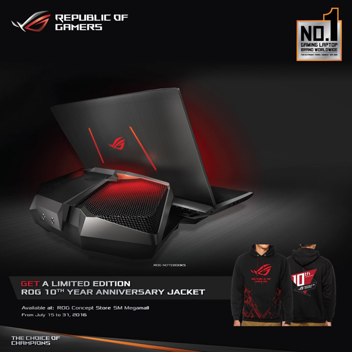 ASUS ROG flagship concept store, ASUS Republic of Gamers Megamall
