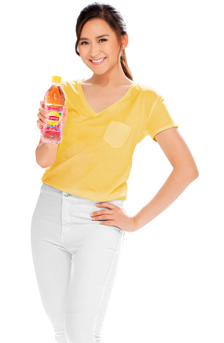 Sarah Geronimo, Lipton Iced Tea