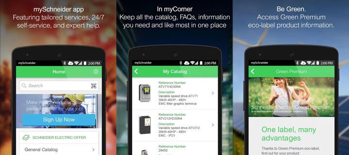Schneider Electric presents mySchneider app: Anywhere, any time, any project