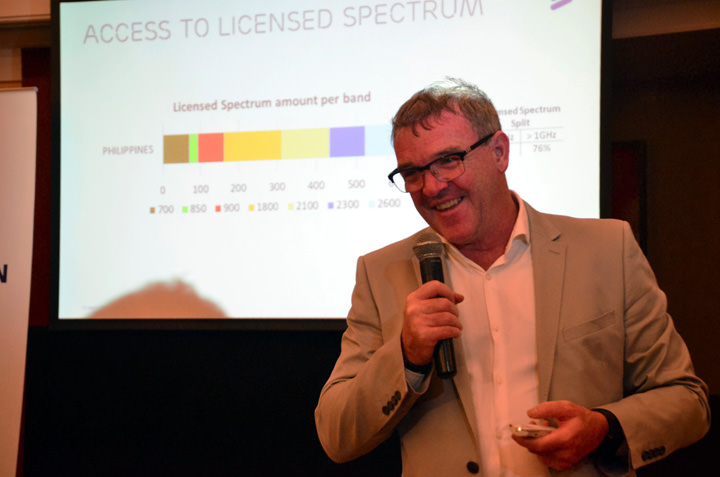 Sean Gowran, President and Country Manager of Ericsson Philippines and Pacific Islands