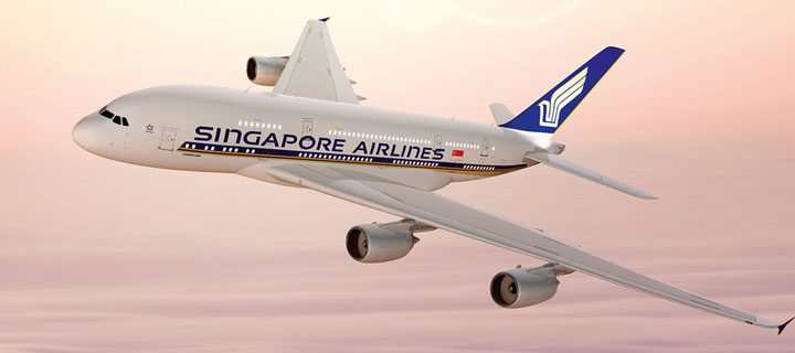 Fly Singapore Airlines and SilkAir from US$180 only with MasterCard
