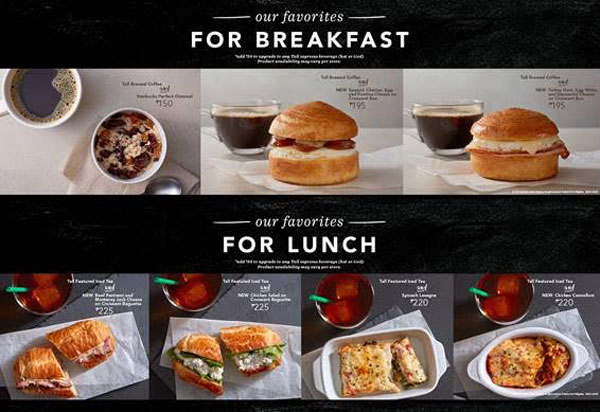 Starbucks-Signature-Pairings