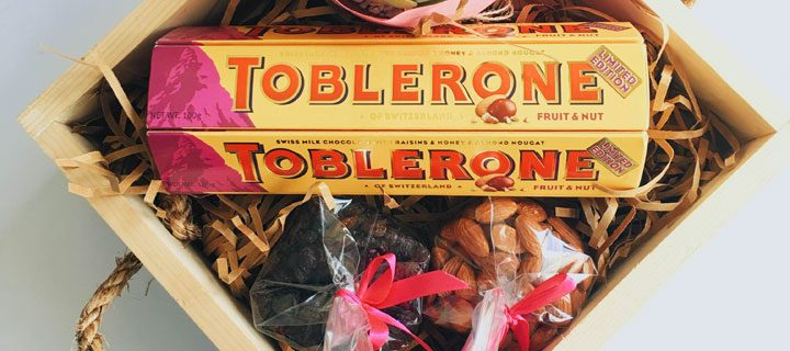 Make Someone Feel More Special With Limited Edition Toblerone Fruit and Nut