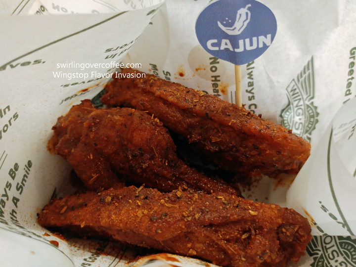 Wingstop, Flavor Invasion, Chicken Wings, Cajun