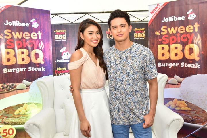 JaDine shares new Forever Love with fans – #TeamReal, Jollibee throws kilig get-together at SM Mall of Asia