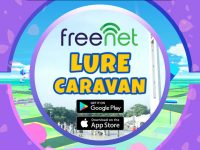 Enjoy Pokemon GO all-day lures in the metro with freenet Lure Caravan