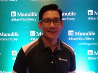 "Celebrity and Entrepreneur Richard Yap helms Manulife's ""Start Your Story"" campaign kick off"