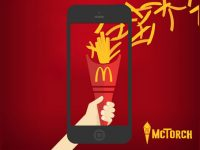 Pass the McTorch to get free fries