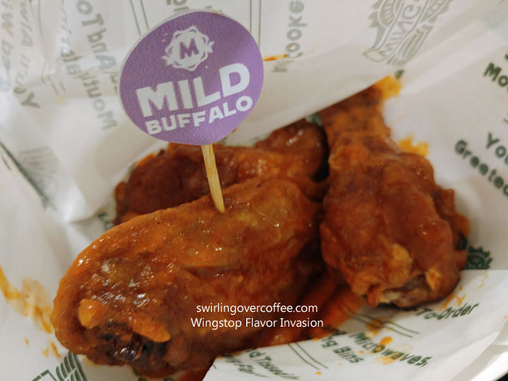 Wingstop, Flavor Invasion, Chicken Wings, Mild Buffalo
