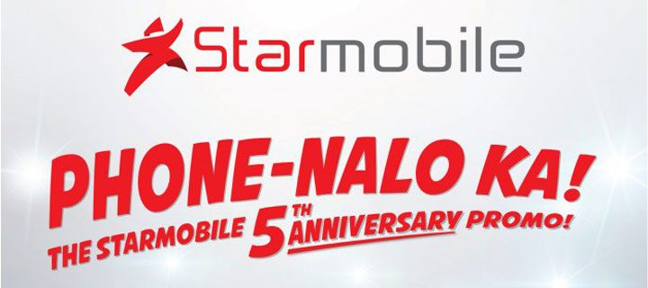Five Phones for Five Years: Starmobile Kicks Off 5th Anniversary with Phone-Nalo Ka Promo