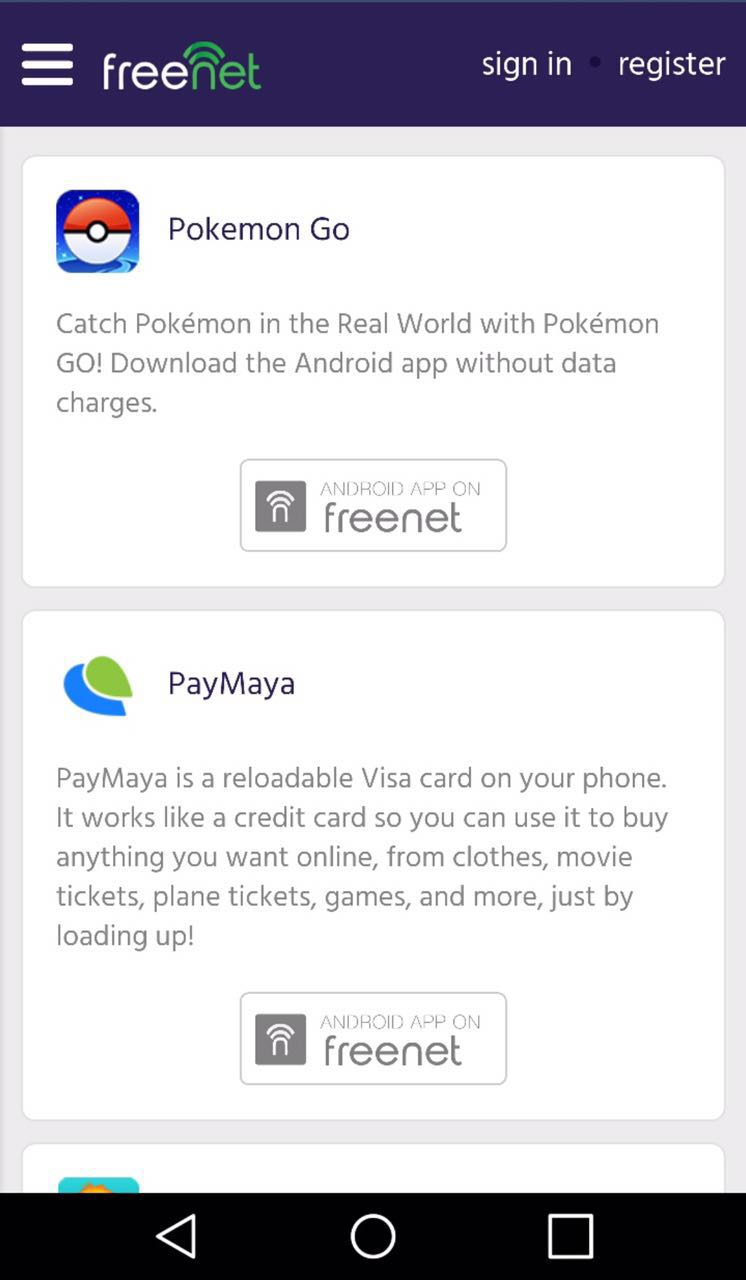 PokemonGO - freenet